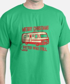 Merry X-mas, Shitter Was Full T-Shirt