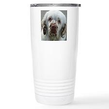 Cute Clumber spaniel Travel Mug