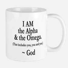 Alpha & Omega Mug