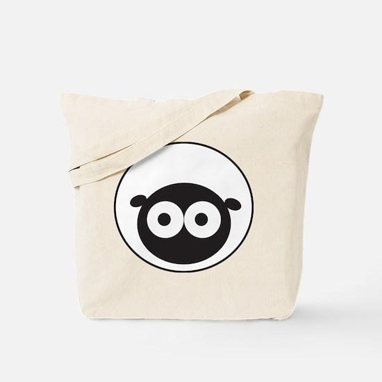 Round Sheep Tote Bag
