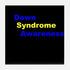 Down Syndrome Awareness Multi Tile Coaster