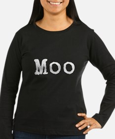 Moo Shirt Long Sleeve T-Shirt