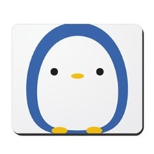 Roly Poly Penguin Mousepad