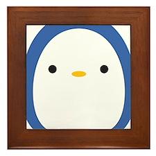 Roly Poly Penguin Framed Tile