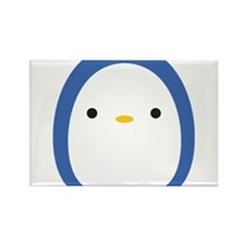 Roly Poly Penguin Rectangle Magnet