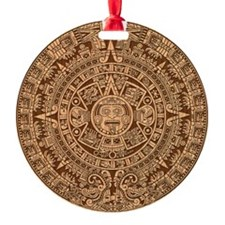 Mayan Calendar 2012 End of the world Ornament