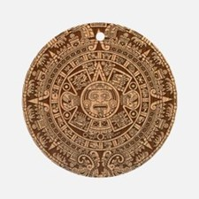 Mayan Calendar 2012 End of the world Ornament (Rou
