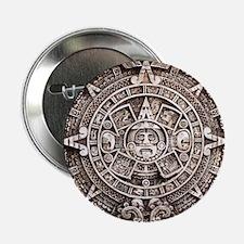 """Mayan End of the World 2012 Calendar 2.25"""" Button"""