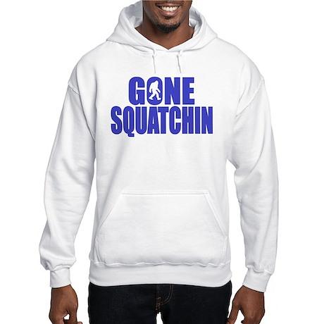 Gone Squatchin - Brute Hooded Sweatshirt