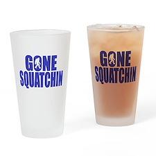 Gone Squatchin - Brute Drinking Glass