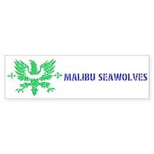 Malibu Seawolves Bumper Bumper Sticker