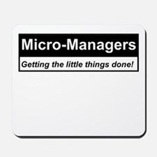 Micro-Managers: Getting the little things done! Mo