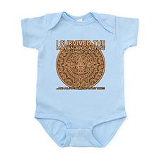 funny mayan apocalypse 2012 survivor Infant Bodysu