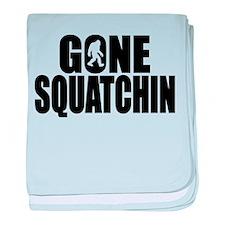 Gone Squatchin - Brute baby blanket