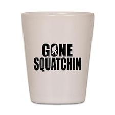 Gone Squatchin - Brute Shot Glass