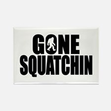 Gone Squatchin - Brute Rectangle Magnet