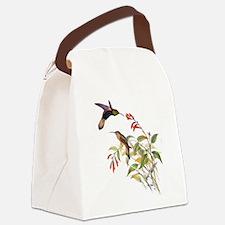 Hummingbirds Canvas Lunch Bag