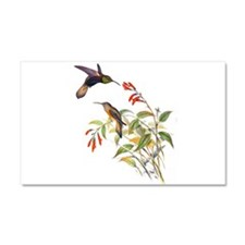 Hummingbirds Car Magnet 20 x 12