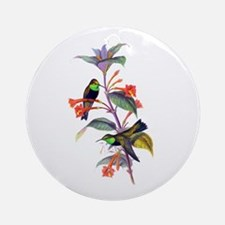 Hummingbirds Ornament (Round)