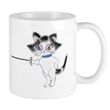 En Garde Kitty Coffee Mug
