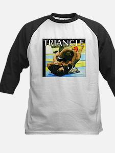 BJJ Triangle Choke Kids Baseball Jersey