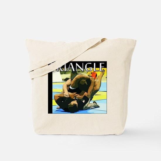 BJJ Triangle Choke Tote Bag