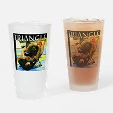 BJJ Triangle Choke Drinking Glass