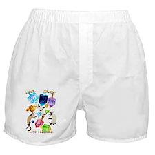 Delightful Dreidels-lettered Boxer Shorts