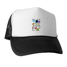 Delightful Dreidels-lettered Trucker Hat