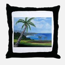 Kauai Beach Throw Pillow