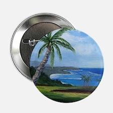 """Kauai Beach 2.25"""" Button"""