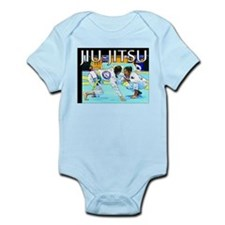 Jiu-Jitsu BJJ Girls Infant Bodysuit