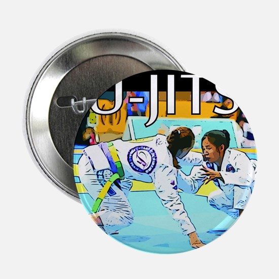 "Jiu-Jitsu BJJ Girls 2.25"" Button"