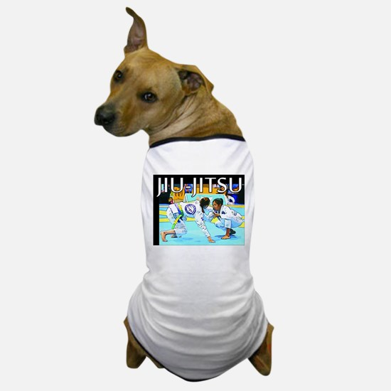 Jiu-Jitsu BJJ Girls Dog T-Shirt
