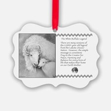 White Buffalo Legend ~ Ornament