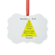 Maryland Food Pyramid Ornament