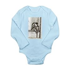 Chickadee Sees Long Sleeve Infant Bodysuit