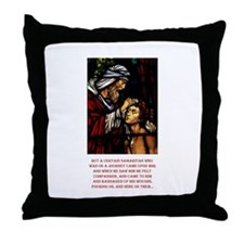 Good Samaritan Throw Pillow