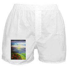 Six Flowers Swaying Boxer Shorts