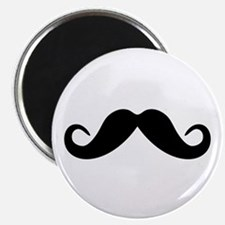 "Mustache 2.25"" Magnet (10 pack)"