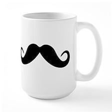 Mustache Ceramic Mugs