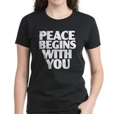 Peace Begins With You Tee