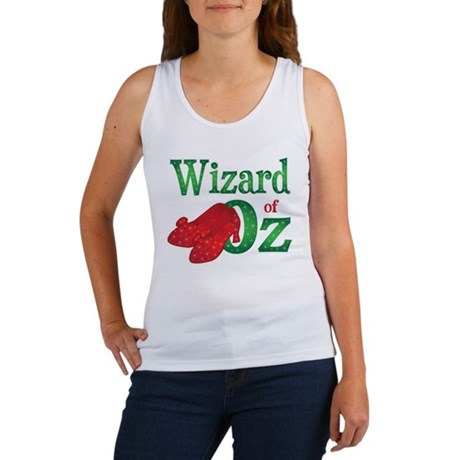 Wizard of Oz Green Women's Tank Top