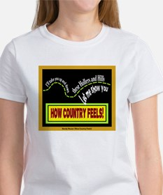 How Country Feels-Randy Houser/t-shirt Tee