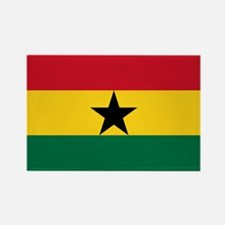 Flag of Ghana Rectangle Magnet