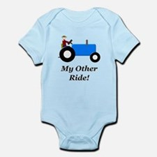 My Other Ride Blue Infant Bodysuit