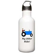 My Other Ride Blue Water Bottle