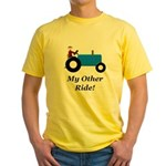 My Other Ride Blue Yellow T-Shirt