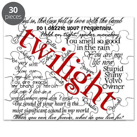 Twilight quotes Puzzle