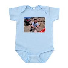 Rudolph Down Infant Bodysuit